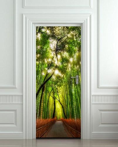 Bamboo Door Skins