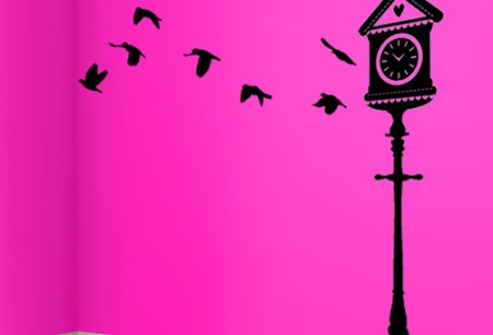 Birdhouse-wall-decal