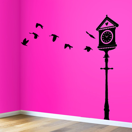 Bird House Wall Decal