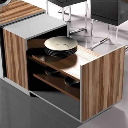 Kitchen Design in Wooden