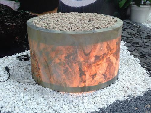 Stone Decor Pot