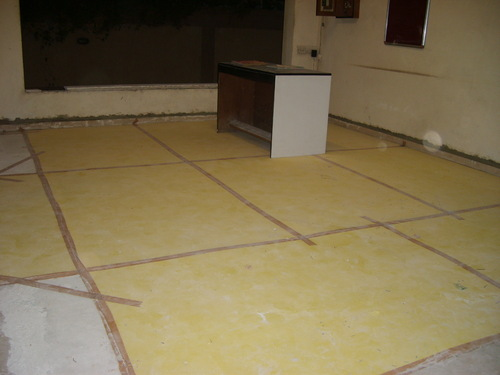 floor protector Beige Colour