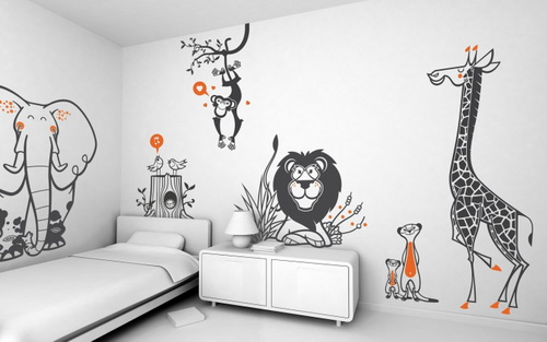 kids wall decal - Designer Wall Stickers